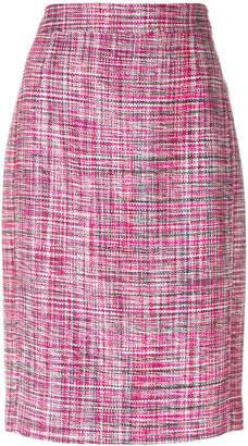 Akris Punto bouclé pencil skirt