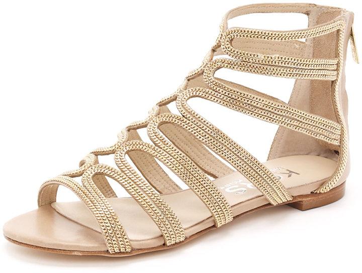 KORS Michael Kors Jersey Gladiator Sandal