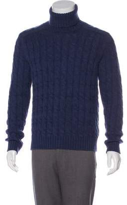 ad32015acb5 Gucci Wool & Alpaca Cable Knit Sweater