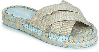 Miss L Fire Miss L'fire Miss L'Fire BOHEME women's Sandals in Beige