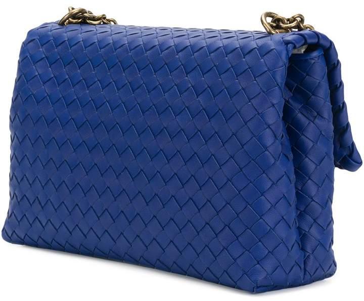 e6a79764d6 Bottega Veneta cobalt blue Intrecciato nappa small olimpia bag detail image