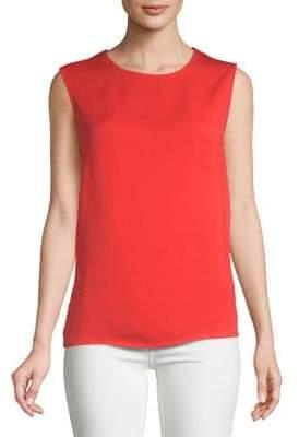 Diane von Furstenberg Lace-Back Sleeveless Top