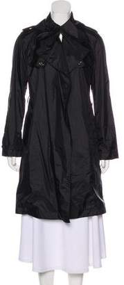 Burberry Knee-Length Open Front Jacket