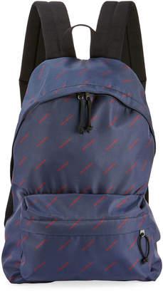 Balenciaga Men's Explorer Logo-Print Backpack