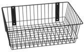 """Rack'Em Racks Rack'Em 9085-B Mount Anywhere Black Wire Basket 18""""x12""""x6"""" provides versatile storage all of your outdoor gear, supplies and organizational needs."""