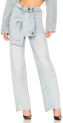 Alexander Wang DENIM x Stack Tie Jean