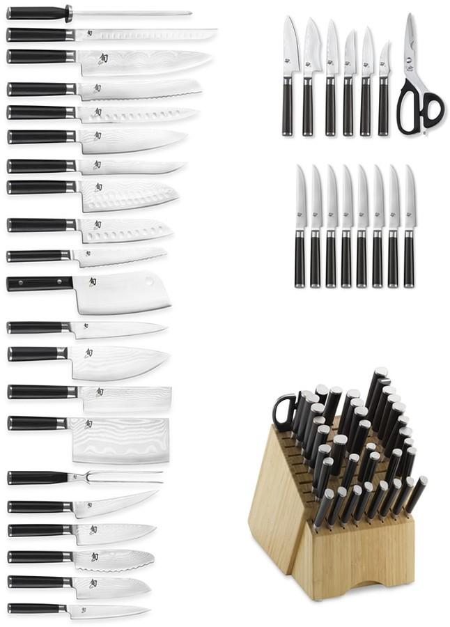 Shun Classic 37-Piece Knife Block Set