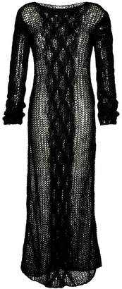 Miu Miu long sweater dress