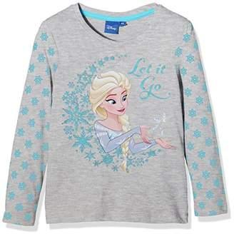 Disney Girl's Frozen Queen Forever T-Shirt,8 Years