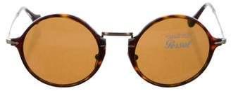 Persol Tortoiseshell Round Sunglasses