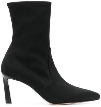 Stuart Weitzman pointed toe ankle boots