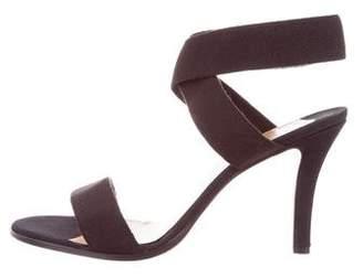 Walter Steiger Canvas Ankle Strap Sandals