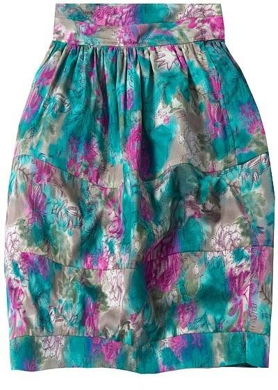 Elizabeth And James Floral Gathered Skirt