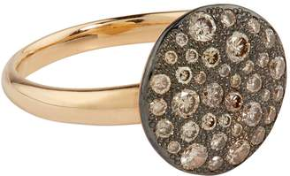Pomellato Rose Gold and Diamond Sabbia Ring