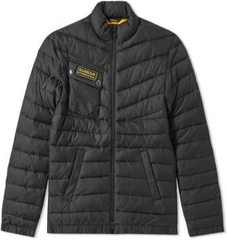Barbour International Chain Baffle Quilt Jacket