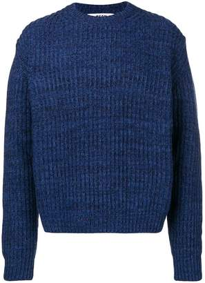 MSGM chunky mesh knit sweater