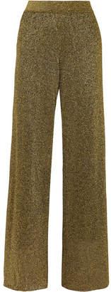 Missoni Lurex Wide-leg Pants - Gold
