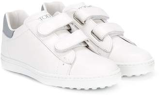 Tod's Kids touch strap sneakers