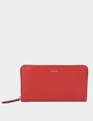 Lancel Enveloppe Zip Continental Wallet