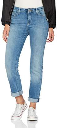 Lee Women's Marion Straight Jeans, (High Stake Blue Kimu), W29/L31