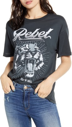 Daydreamer Rebel Tiger Graphic Tee