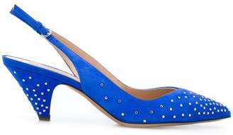 Valentino studded pointed pumps