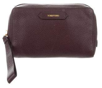7cbf9d30d0 Leather Cosmetic Bag - ShopStyle