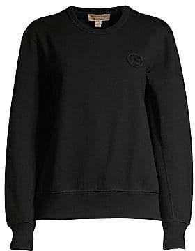 Burberry Women's Jayford Silicone Logo Sweatshirt