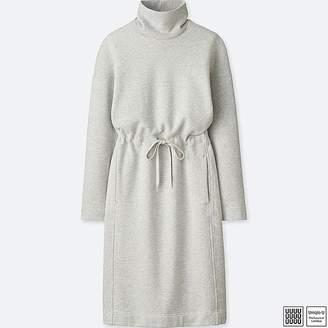 Uniqlo Women's U Sweat Turtleneck Long-sleeve Dress
