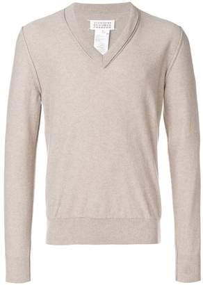 Maison Margiela V-neck pullover
