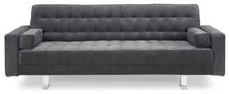 Serta Raelynn Convertible Sofa Charcoal