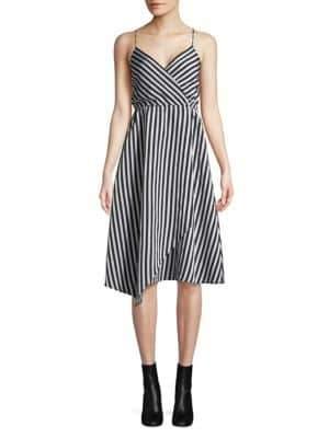 Tracy Reese Asymmetric Slip Dress