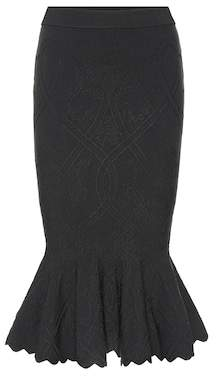 Jonathan Simkhai Stretch-knit midi skirt
