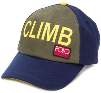Ralph Lauren colour-block cap