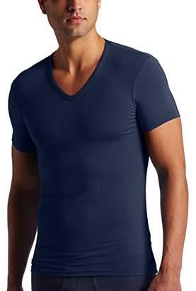 Calvin Klein Men's Body Modal Short Sleeve V Neck Pajama Top