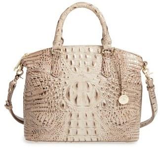 Brahmin 'Medium Duxbury' Croc Embossed Leather Satchel $275 thestylecure.com