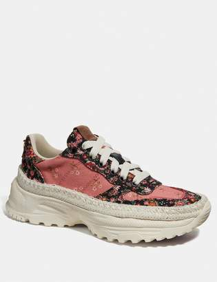 Coach C143 Espadrille Runner With Mix Posey Cluster Print