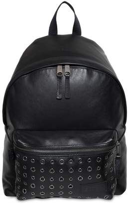 Eastpak 24l Padded Pak'r Eyelet Leather Backpack