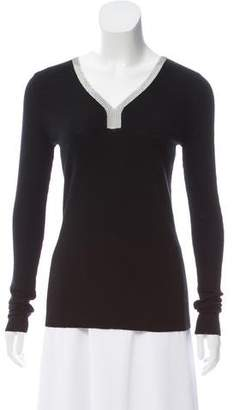 Barbara Bui Wool V-Neck Sweater w/ Tags