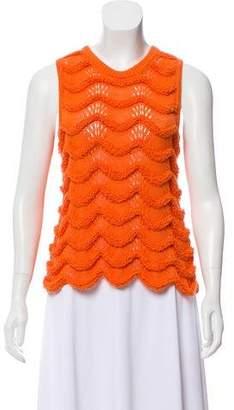 Kenzo Sleeveless Knit Sweater