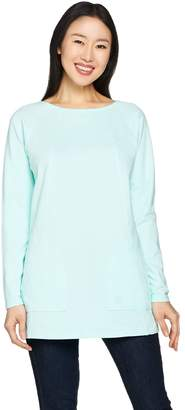 Linea By Louis Dell'olio Leisure by Louis Dell'Olio Raglan Sleeve Knit Tee