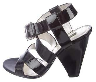 Dolce & Gabbana Patent Leather Strap Sandals