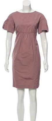 Max Mara 'S Short Sleeve Tent Dress