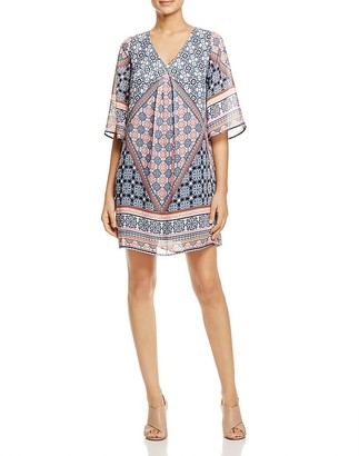 B Collection by Bobeau Lola Printed Shift Dress $88 thestylecure.com