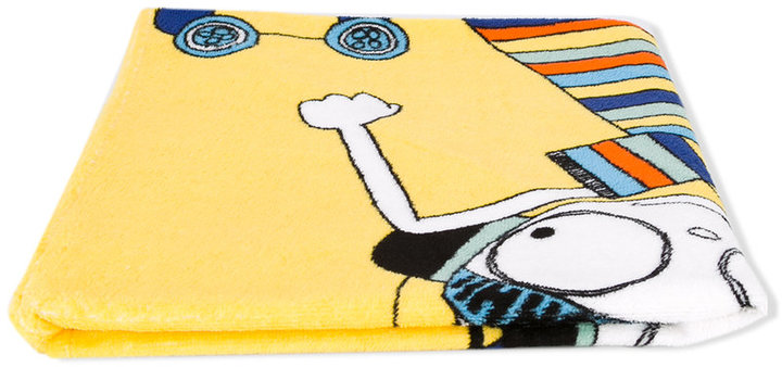 Little Marc Jacobs Little Marc Jacobs skater print towel