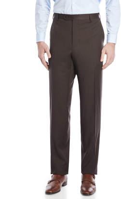 Zanella Charcoal Brown Suit Pants