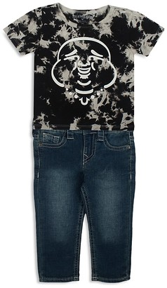 True Religion Infant Boys' Buddha Tee & Jeans Set - Sizes 12-24 Months $79 thestylecure.com
