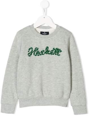 Hackett Kids logo appliqué sweatshirt