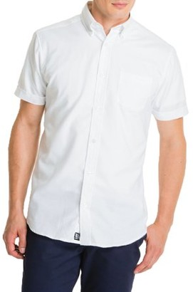 Lee Uniforms Young Men's Short Sleeve Oxford Shirt