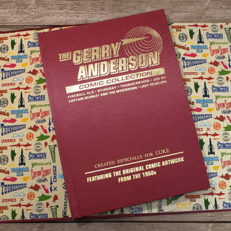 Jonny's Sister Gerry Anderson Comic Collection Deluxe Edition